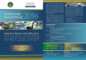 Seminar Nasional Whistle Blower