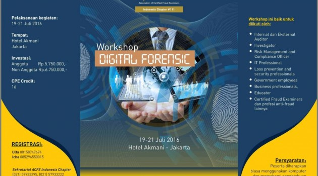 "Workshop ""Digital Forensic"""