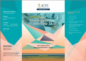 "Workshop ""Investigative Interview Skill"""