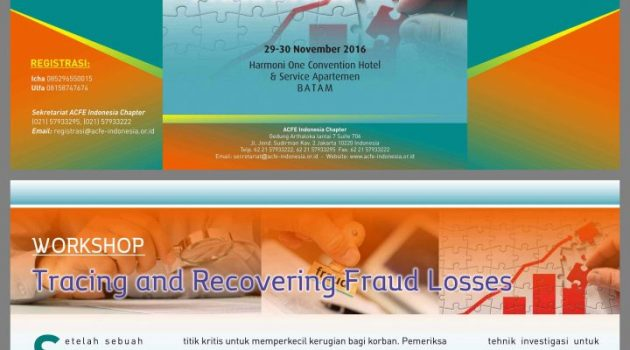 "Workshop ""Tracing and Recovering Fraud Losses"""