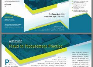 """Workshop """" Fraud in Procurements Practice"""""""