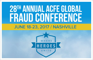 28th ANNUAL ACFE GLOBAL FRAUD CONFERENCE
