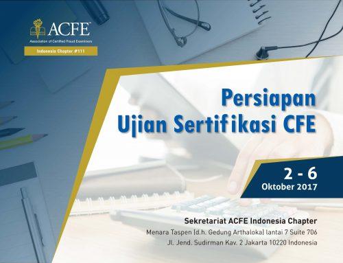 Persiapan Ujian Sertifikasi CFE