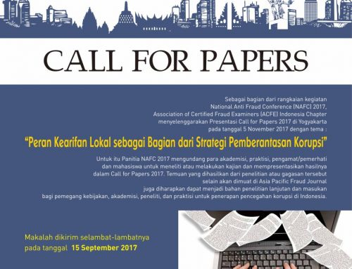 Call for Papers & National Anti Fraud Conference 2017