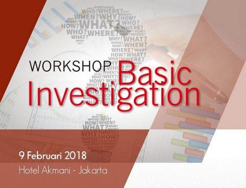 Workshop Basic Investigation