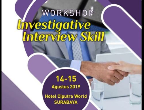 Workshop Investigative interview Skill