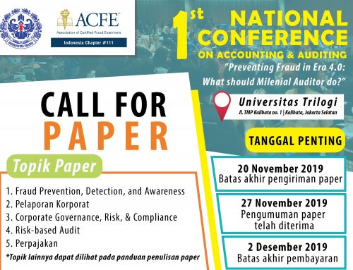 "1st NATIONAL CONFERENCE ON ACCOUNTING & AUDITING "" CALL FOR PAPER"""