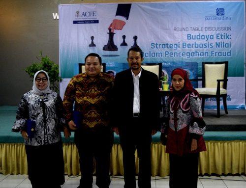 Gandeng Civitas Academica, ACFE Indonesia Chapter Gelar Diskusi terkait Etika