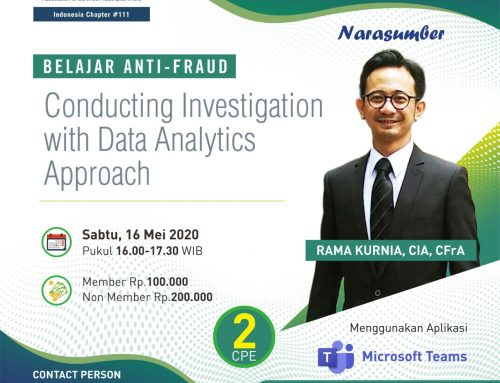 Conducting Investigation With Data Analytics Approach