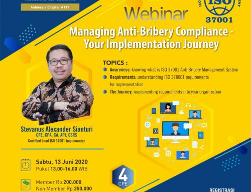 Managing Anti-Bribery Compliance – Your Implementation Journey