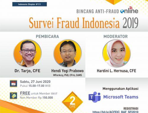 BAF-Survei Fraud Indonesia 2019