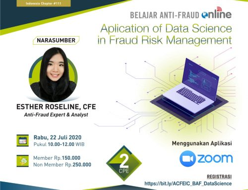 Aplication of Data Science in Fraud Risk Management