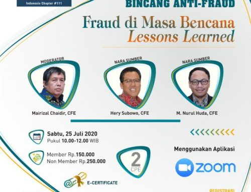 "BAF-Fraud di Masa Bencana ""Lessons Learned"""