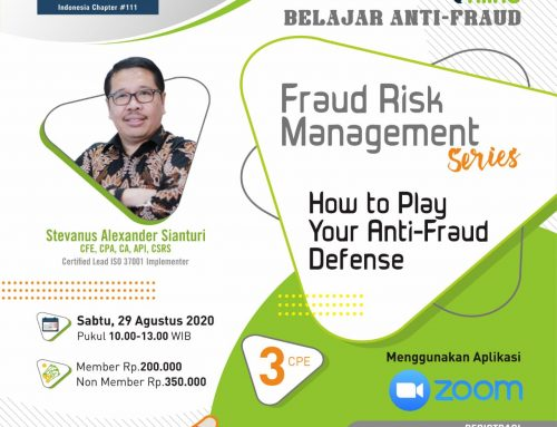 Fraud Risk Management – How to Play Your Anti-Fraud Defense