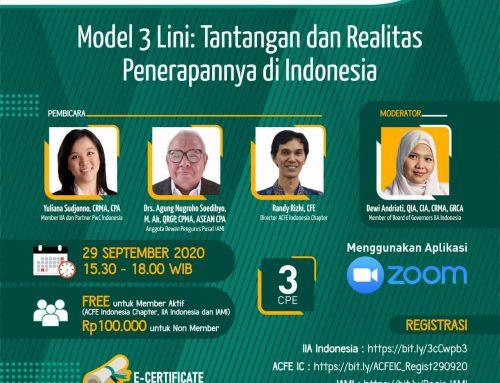 Model 3 lini : Tantangan dan Realitas Penerapannya di Indonesia