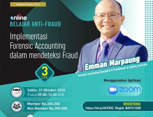 BAF-Implementasi Forensic Accounting Dalam Mendeteksi Fraud