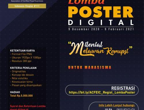 "Lomba Poster Digital ""Milenial Melawan Korupsi"""