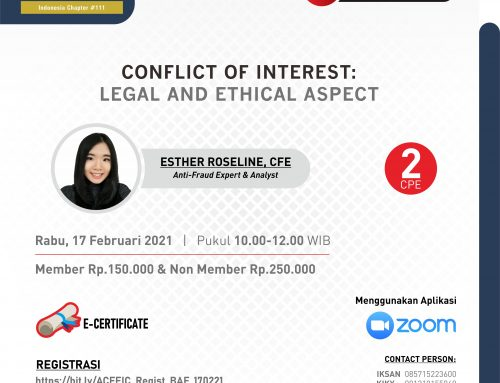 CONFLICT OF INTEREST : LEGAL AND ETHICAL ASPECT