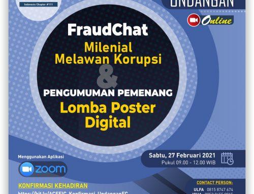 """Pengumuman Pemenang Lomba Poster Digital """"Milenial Melawan Korupsi"""""""