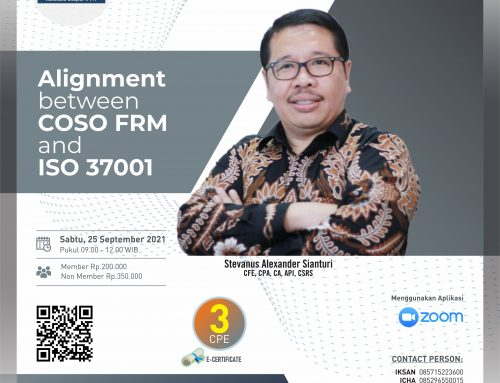 Alignment Between COSO FRM and ISO 37001